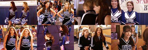 "Brooke and Haley wallpaper called ""They're the hottest cheerleaders."""