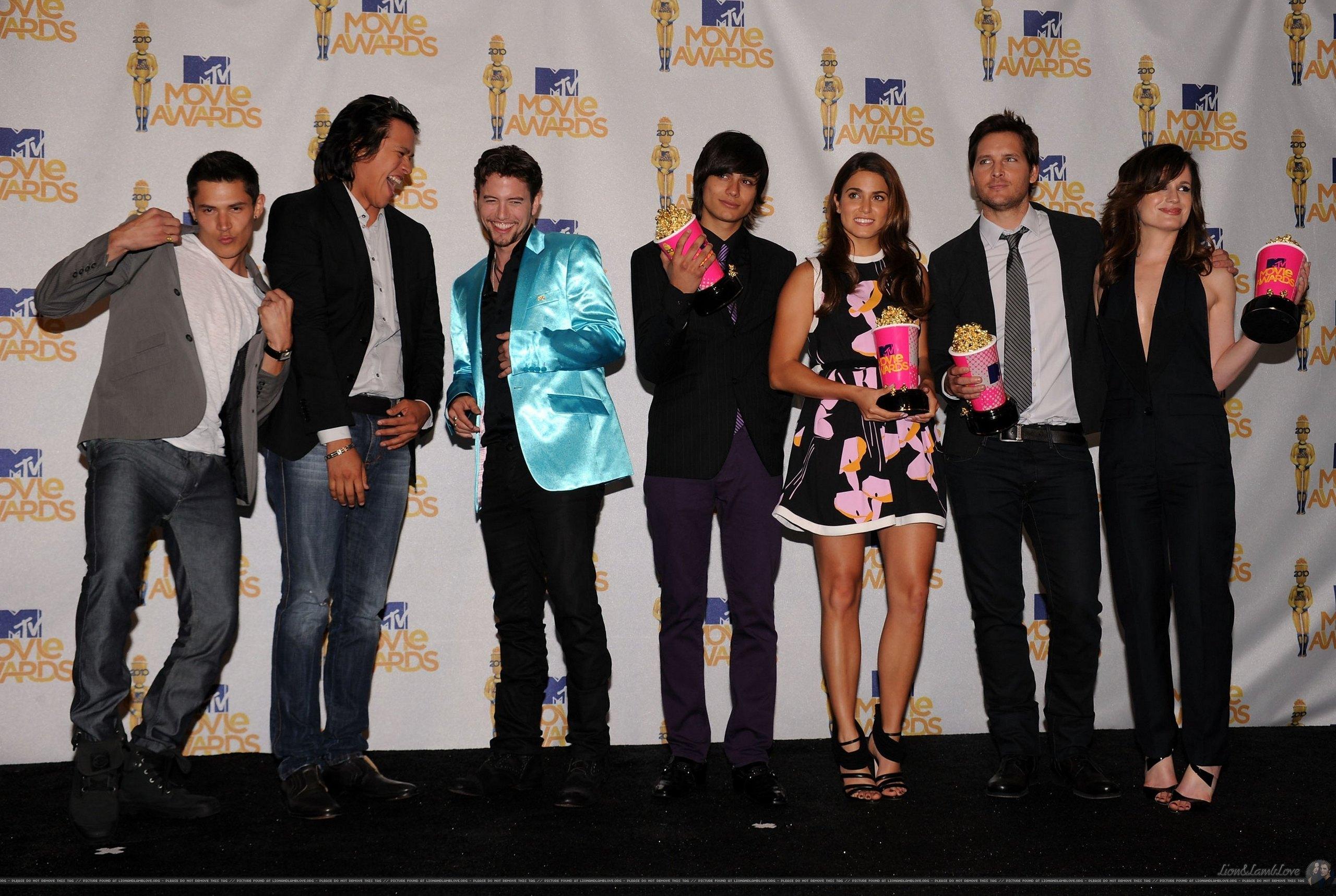 2010 MTV Movie Awards - Press Room