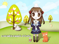fruits-basket - A Rice Ball In A Basket Of Fruits wallpaper
