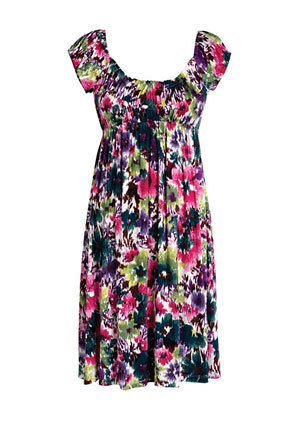 Adina Floral Knit Dress