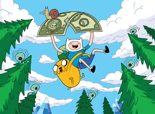 Adventure Time With Finn and Jake wallpaper titled Adventure Time with Finn and Jake