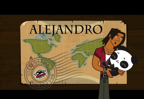 Total Drama World Tour দেওয়ালপত্র entitled Alejandro Tdwt