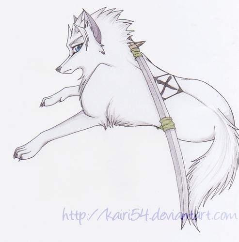 アニメ オオカミ
