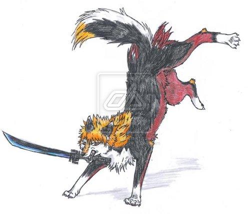 anime serigala