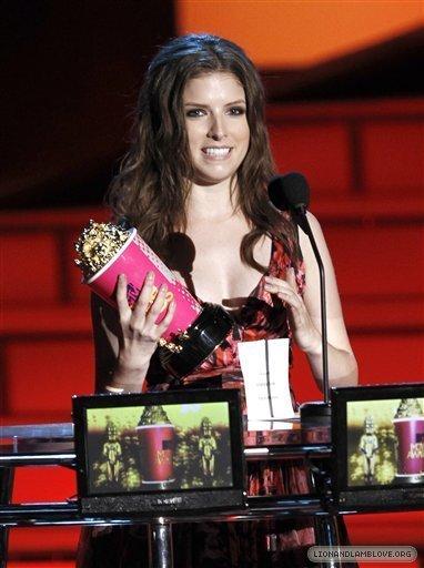 Anna Kendrick won Best Breakout stella, star