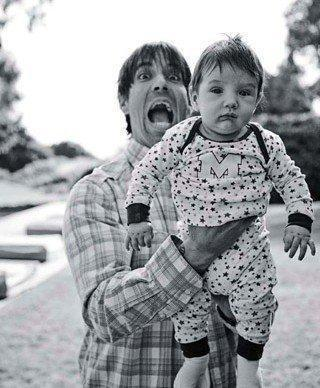 Anthony Kiedis and Everly