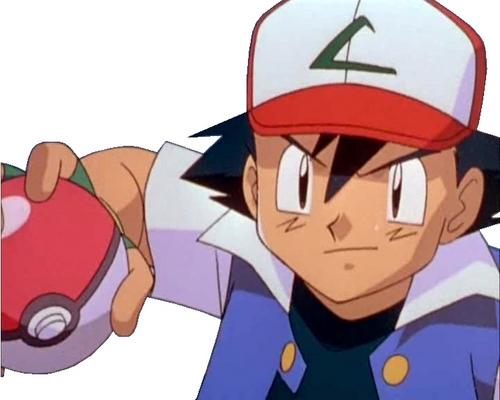 Ash Ketchum achtergrond titled Ash
