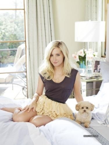 Ashley in David Mushegain - Instyle Magazine photoshoot