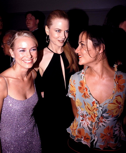 Naomi, Nicole and Rebecca - Australian Film Industry Awards