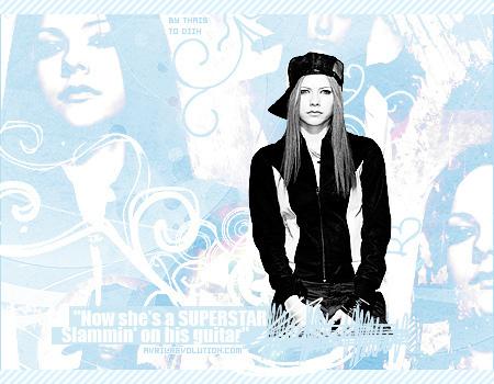 Avril 粉丝 art <3