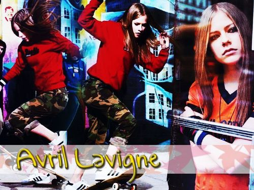 Avril پیپر وال
