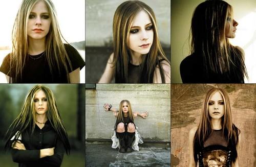 Avril kertas-kertas dinding