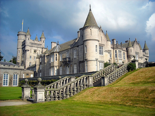 Masquerade wallpaper called Balmoral Castle