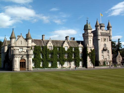 Masquerade wallpaper titled Balmoral Castle