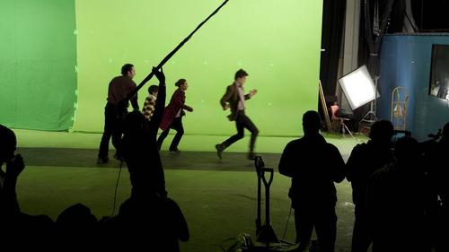 Behind the scenes - cold blood episode