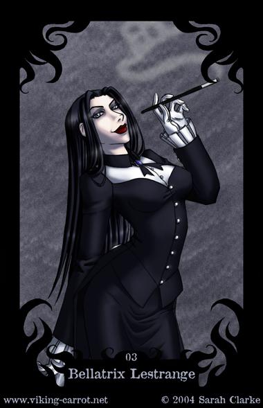 Bella's Death Eater Card