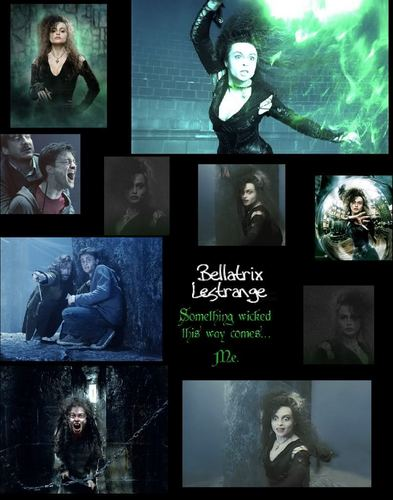 Bellatrix collage