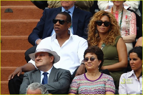 Beyonce: French Open with Jay-Z!