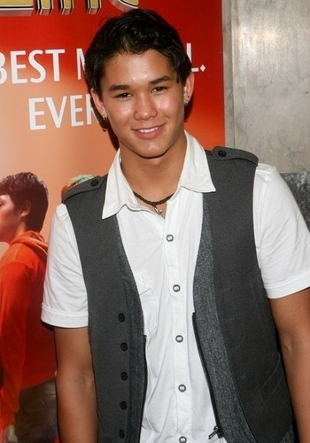 Booboo Stewart at the opening night of 'A Chorus Line'