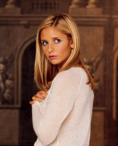 Buffy Summers karatasi la kupamba ukuta entitled Buffy promos