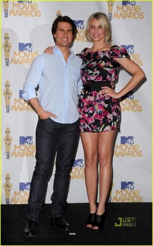 Cameron Diaz: এমটিভি Movie Awards with Tom Cruise!