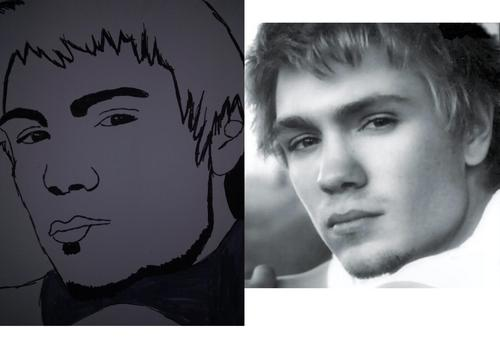 Chad Michael Murray Drawing