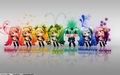 Colors of Miku  - vocaloids wallpaper