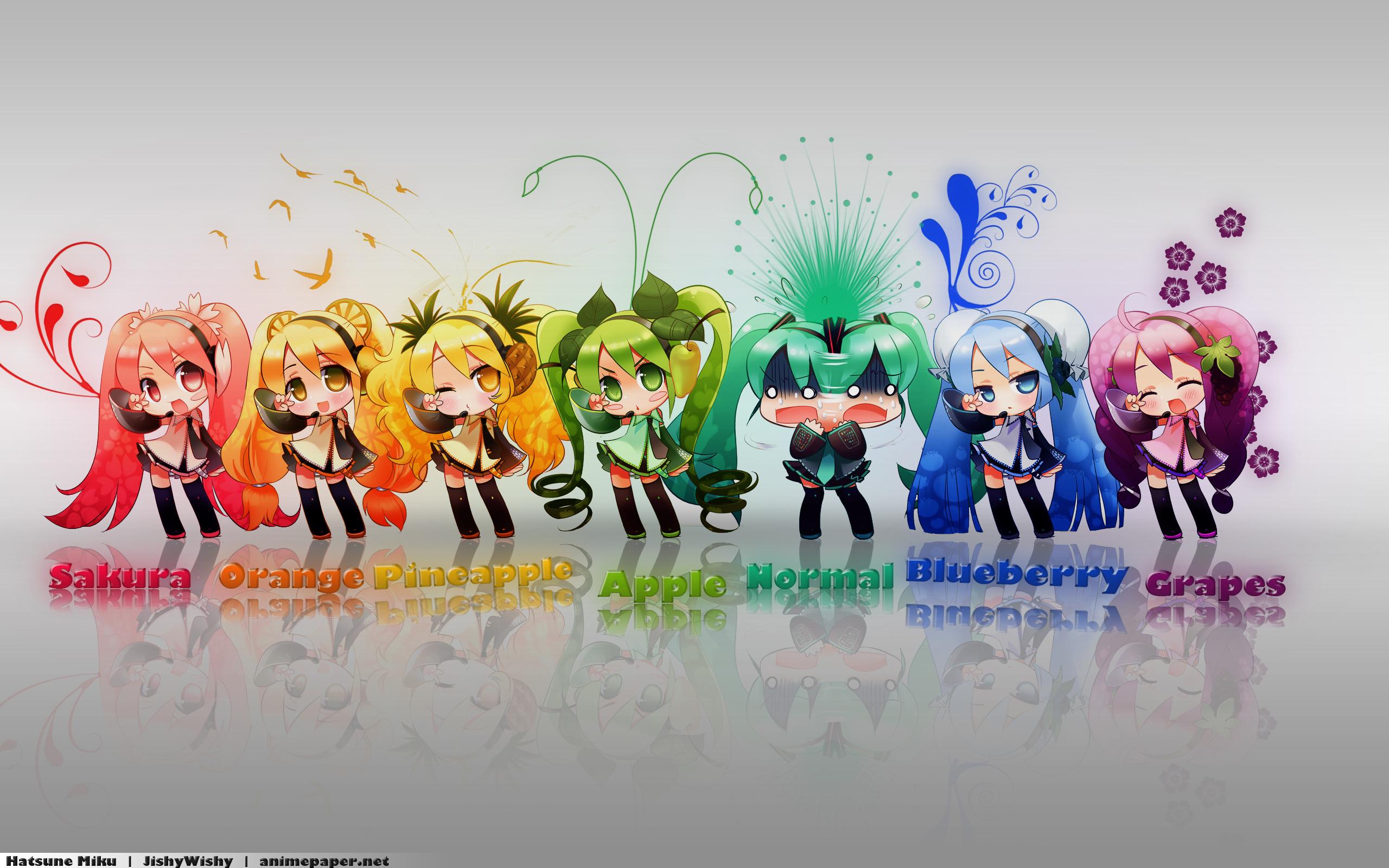 Colors of Miku