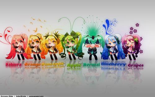 Colors(色) of Miku