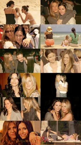 Courtney Cox Arquette & Jennifer Aniston