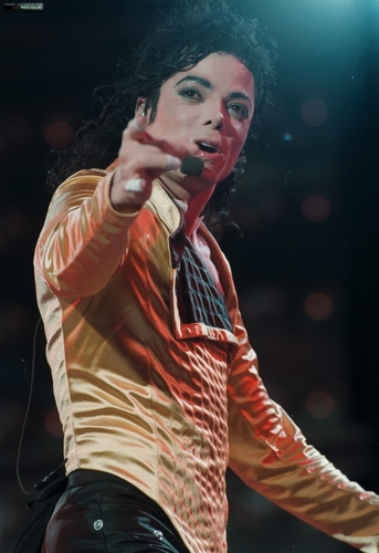 Dangerous Tour - Gold Leotard