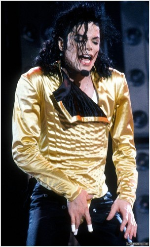 Dangerous Tour - emas Leotard