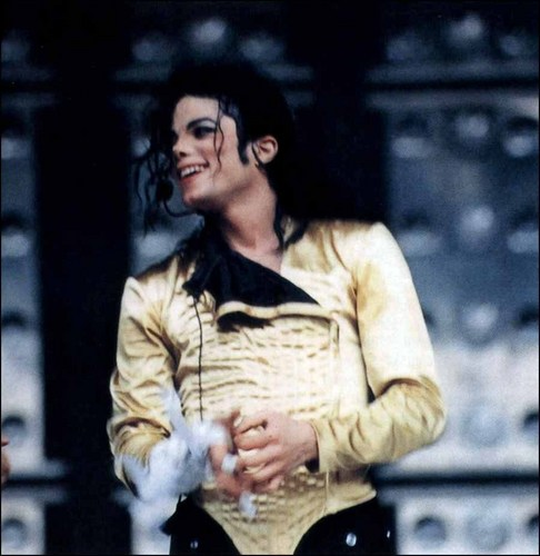 Dangerous Tour - vàng Leotard