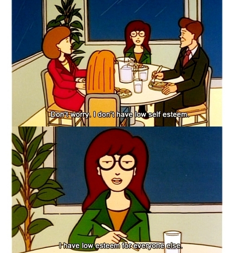 Self esteem - daria Fan Art