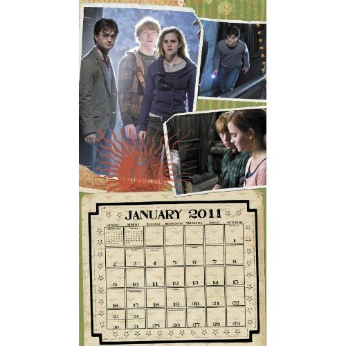 Deathly Hallows 2011 Calendar