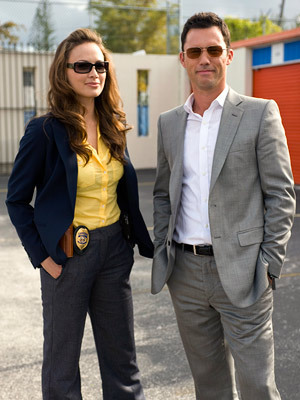 Detective Paxon and Michael