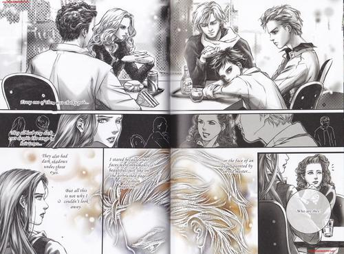 Emmett and Rosalie in 'Twilight Graphic Novel: Volume 1' - emmett-and-rosalie Photo