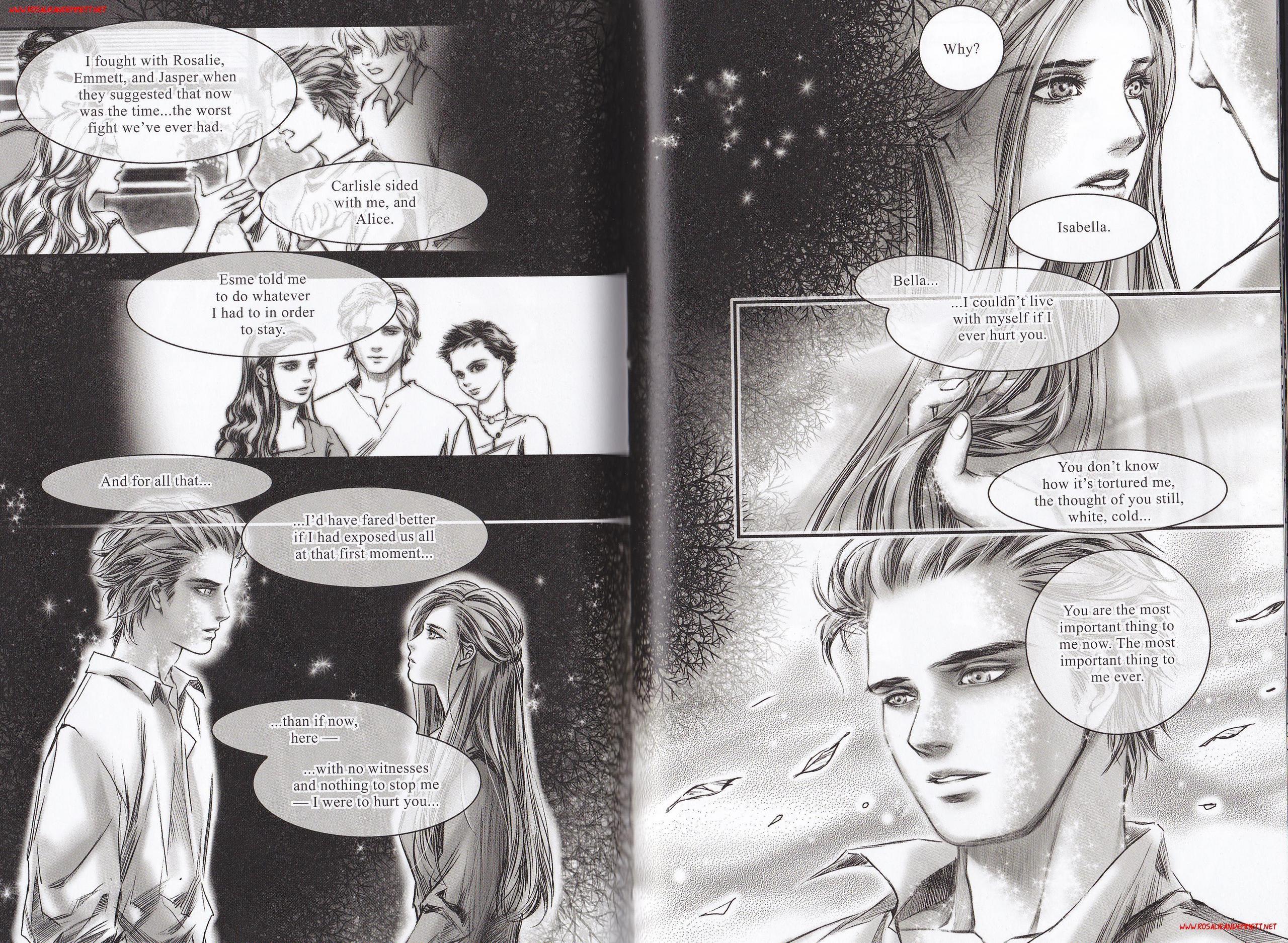 Emmett and Rosalie in 'Twilight Graphic Novel: Volume 1' - Emmett
