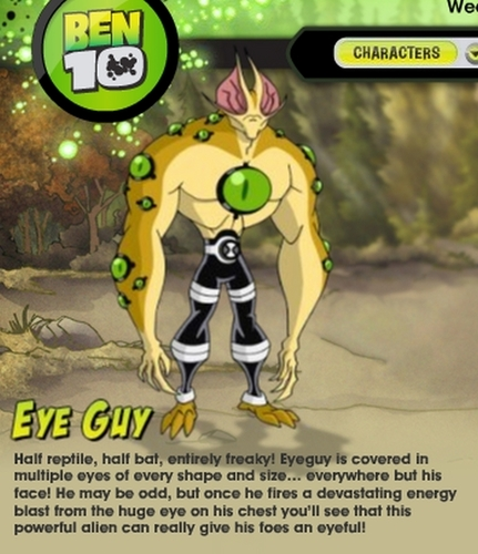 Ben 10 wallpaper entitled EyeGuy