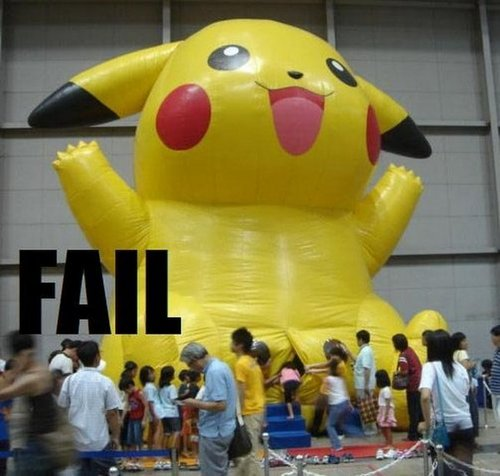 Fail Pokemon