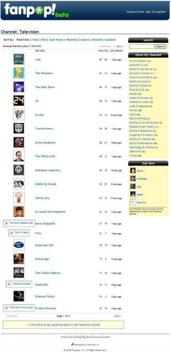 fanpop televisi Spots -Aug 2006