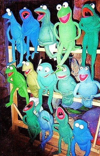 The Muppets wallpaper entitled Frogs