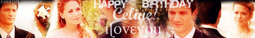 HAPPY BIRTHDAY, Celine! <3 :D