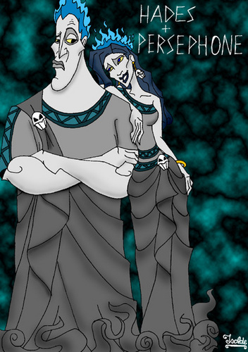 Disney wallpaper called Hades and Persephone