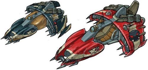 Hellcat cruiser, penjajap