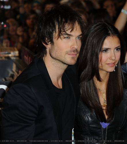 Ian & Nina at HMV (HQ)