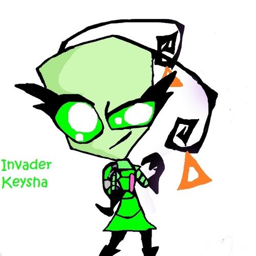 Invader Keysha