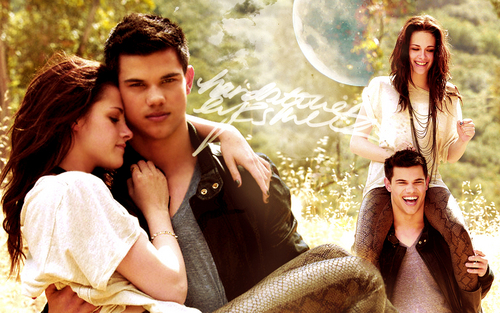 Eclipse wallpaper called Jacob and Bella