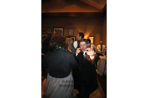 Jensen [at Jared's wedding]