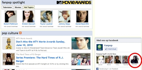 Stelena Fangirls fond d'écran entitled Jov on the FP frontpage! (facebook)